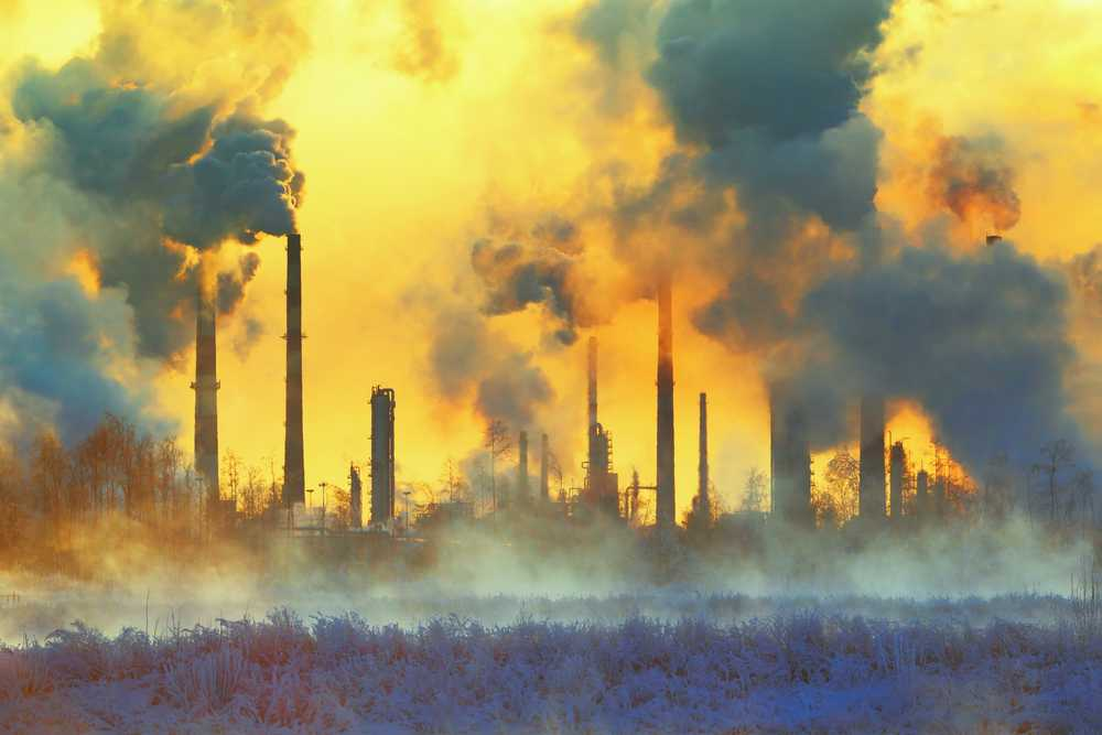 Industry may pollute the atmosphere, soil and water © Hramovnick/Shutterstock